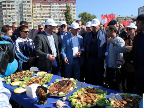 Второй фестиваль Каспийской рыбы прошел в Дагестане